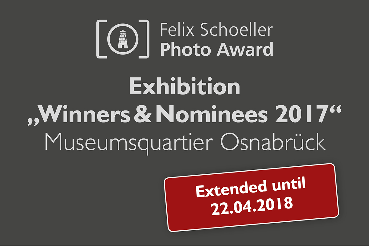 Museumsquartier extends its exhibition for the Felix Schoeller Photo Award until 22nd April 2018