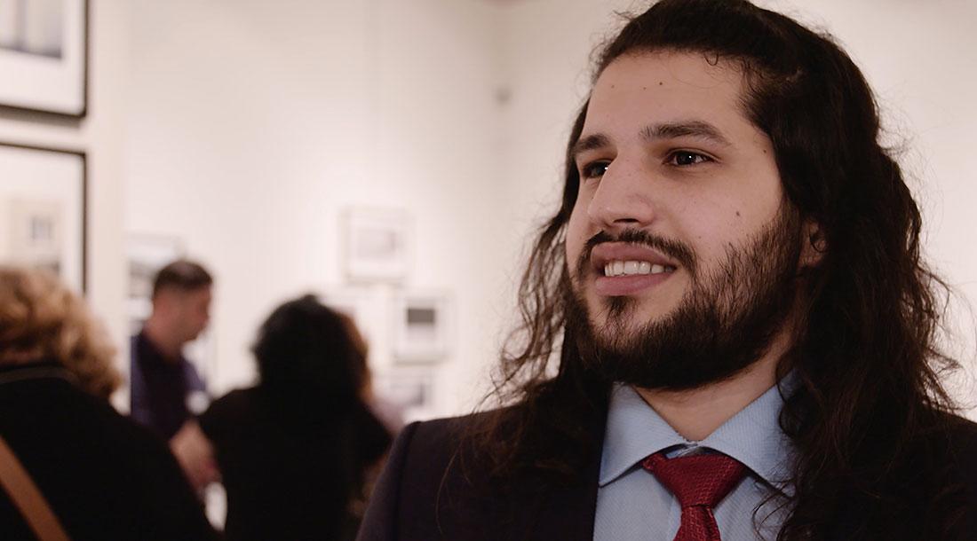 Interview mit dem Sieger des Felix Schoeller Nachwuchspreises Hosam Katan