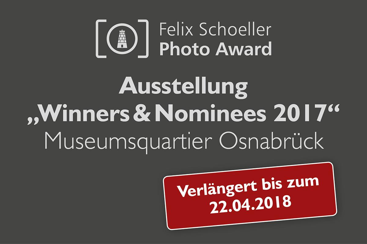 Museumsquartier verlängert Ausstellung zum Felix Schoeller Photo Award bis 22. April 2018